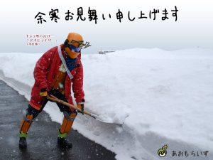 雪かきアオモライザー